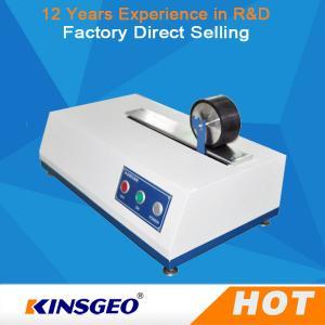 China 2PH AC220V Motor Type Rolling Wheel Peel Adhesion Test Equipment For Preparing Sample wholesale