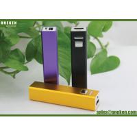 Fast Charging Gifts 18650 Power Bank Lithium Polymer , Light Weight Mobile Battery Backup Charger