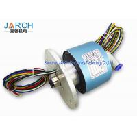 China 300RPM High Precision Hybrid Slip Rings With 10-12mm Tube Size , Long Life Time wholesale