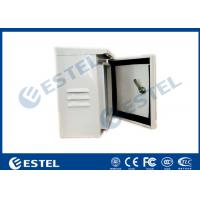 Buy cheap IP55 Single Wall Pole Mounted Cabinet / Enclosure/ Small Metal Box from wholesalers