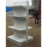 China Double Sided Four Tier Supermarket Display Stands / Retail Store Display Shelves wholesale