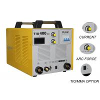 China 380V DC Three Phase Welding Machine / TIG400 Argon Welding Equipment 0.93PF on sale