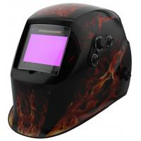 China Adjustable Shade Solar Powered Welding Helmet Auto Darkening For TIG MIG Mode on sale