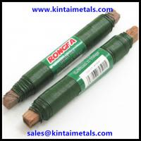 China 0.65mm green lacquered florist wire on wooden stick wholesale