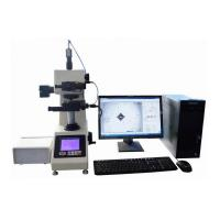 China Software Control Half Automatic Micro Vickers Hardness Testing Machine 400x Magnification on sale