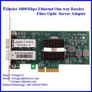 China Intel 82571EB Gigabit Controller 1G Ethernt Single Receive Port Server Adapter wholesale