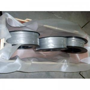 China high purity 99.95% Hf Metal Hafnium Wire Hafnium target wholesale