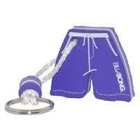 China Purple Shorts Foam EVA keychain/ key holder wholesale