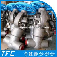 China API 602 forged steel alloy steel gate valve wholesale