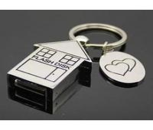 China Kongst metal house USB flash drives pen USB/ house key drive wholesale