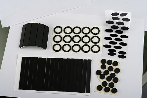 Quality Black PET Plastic Film , Anti Static EVA Plastic Film Size / Shape Custom for sale