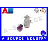 Buy cheap Grey Rubber Sterile Injection 2ml Glass Vials With Corks For Steroids from wholesalers