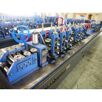 China High Frequency Welding Welded Tube Roll Forming Machine Fly Saw Cutting on sale