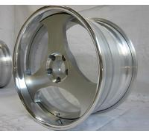 China El pedazo BFL14/3 rueda el labio de /flat/las ruedas/los bordes forjados/aluminio 6061 del soporte de la parte posterior wholesale