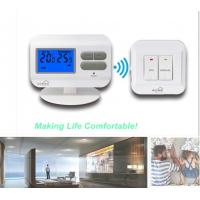 China Electronic RF Non - Programmable Floor Heating Thermostat With 2*AAA Size Battery wholesale