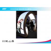 China Animation Show P5 Flexible Led Curtain Display / Led Curved Screen , High Definition wholesale