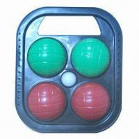 China Plastic Bocce Balls, Used for Beach wholesale