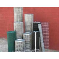 SS005 Green Welded Wire Mesh , Powder Coated Mesh Fencing For Agriculture Building