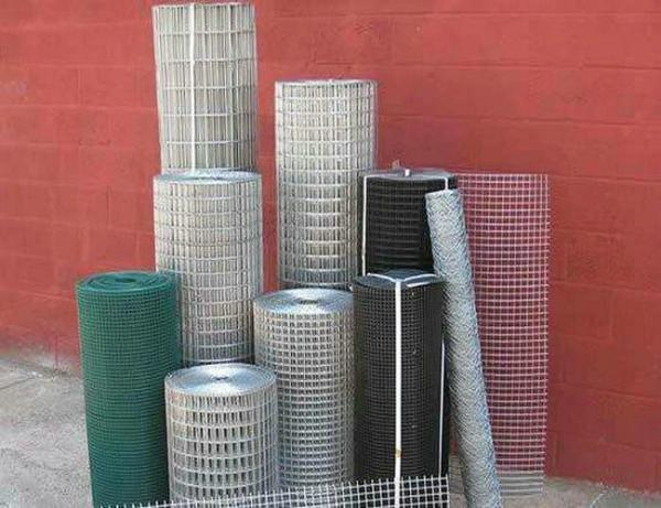 Quality SS005 Green Welded Wire Mesh , Powder Coated Mesh Fencing For Agriculture Building for sale