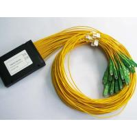 Buy cheap Customized Length Optical Fiber Splitter SC / APC 1*32 PLC Low Insertion Loss from wholesalers