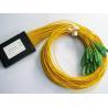 Buy cheap Customized Length Optical Fiber Splitter SC / APC 1*32 PLC Low Insertion Loss from wholesalers