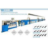 China Microwave Continuous Vulcanization Line 83KW With Single Extruder Head wholesale
