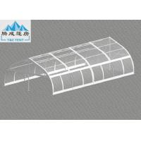 China 120km/h Wind Flame Retardant 10x20m Aluminum Frame Party Tent , Luxury All Season Customized PVC Color on sale