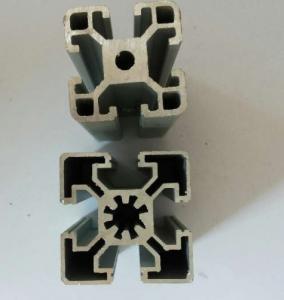 Buy cheap Perfiles de aluminio industriales anodizados sacados, planta de fabricación del aluminio 6005 from wholesalers