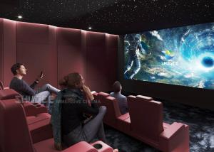China Electric Leather Sofa Home Cinema System With Surround Speaker Subwoofer Projector For Movies wholesale