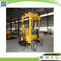 Trailer mounted 600M Yellow Water Well Drilling Rig and Borehole Drilling Rig