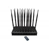 China All-In-One 18 Antennas Cellular Signal Jamming Device Used In Car or Office wholesale