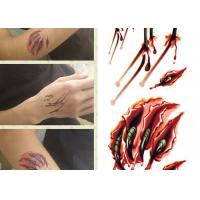China Custom Printed Temporary Body Art Tattoo Stickers For Adults Long Lasting wholesale
