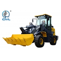 China 2.6 Ton 0.9m3 LW160KV Compact Wheel Loader With Snow Plough 2200mm Wheelbase wholesale