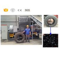 China High efficiency scrap tire recycling rubber tile production line manufactuer on sale