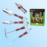 China S/S Garden Tools Set with Colored Window Box on sale
