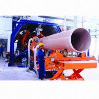 China Continuous GRP Pipe Winding Production Line on sale