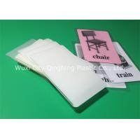 China 80/100/125/150mic Lamination Film  2-1/8 x 3-3/8 Laminating Pouches For Credit Card on sale