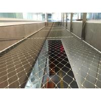 China Knotted Type SS316 Wire Rope Mesh Fencing 1.2 mm to 4.0 mm,Safety net wholesale