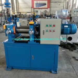 China 76mm To 400mm Electronic Heating PVC Two Roll Mill Rubber Lab Equipment on sale