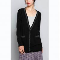China Jersey Plus Size Cardigan Sweaters , Summer Womens Long Cardigan Sweaters wholesale