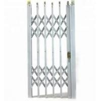 China Aluminium Concertina Window Security Grilles , Foldable Window Grill wholesale