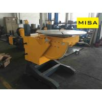 China 15T Manual Elevating Welding Positioner With 1.1kw Turning Power For Vessel Welding on sale