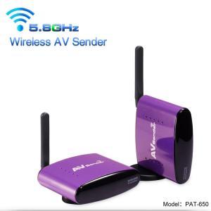 China PAKITE 5.8GHz Anti-interference CCTV Camera Analog Signal Transmitter Wireless AV / Audio Video Transmitter Receiver for wholesale