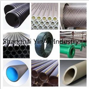Buy cheap Le tuyau ondulé en plastique pour le tuyau de pièces d'auto/PE a perforé le tuyau de plastique polyéthylène de drainage from wholesalers