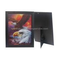 China Paper Frame Stand 3d Lenticular Sheets Picture PET Custom Design on sale