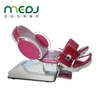 China Multifunctional Medical Gynecological Examination Table Pink And White Color wholesale