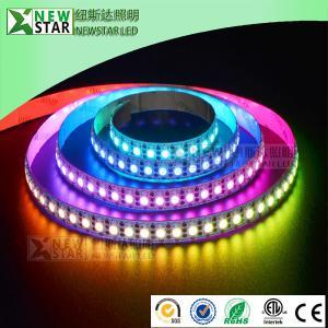 China 120leds SK6812 RGB LED Shenzhen factory SK6812 digital pixel addressable DMX DC5V 60 120leds/m sk6812 led strip lights on sale