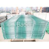 China Garden Wire Mesh Fence Decorative Curved Green Welded Wire Fencing wholesale