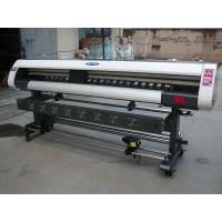 China 1.8m Low Cost 1440dpi High Precision Eco Solvent Inkjet Printer Machine for flex vinyl PP printing on sale
