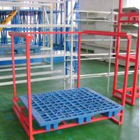 China Customized Car Accessories Tire Metal Shelf Metal Foldable Stacking Rack Warehouse wholesale